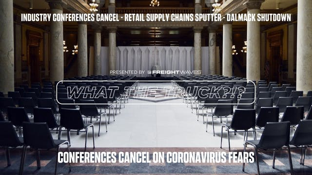 Industry conferences cancel on corona...