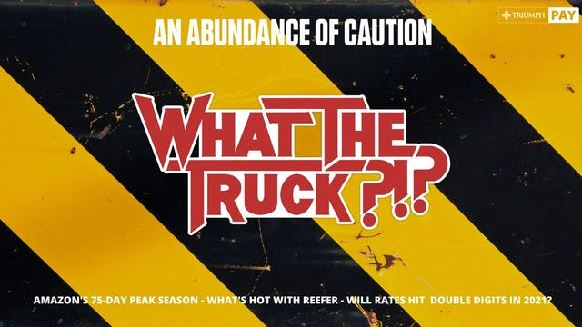 An abundance of caution - WHAT THE TR...