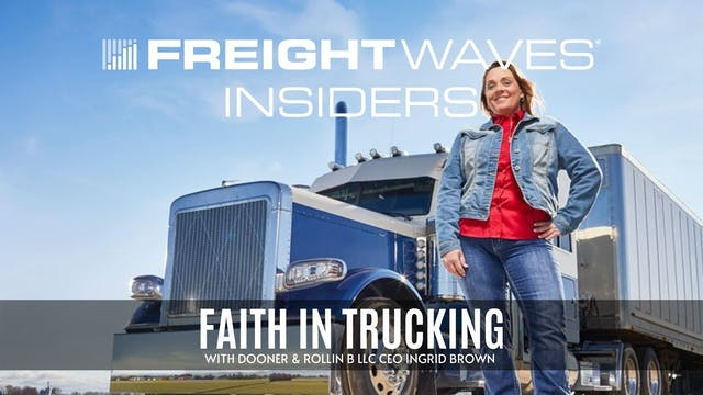 Faith in trucking with Rollin B LLC C...