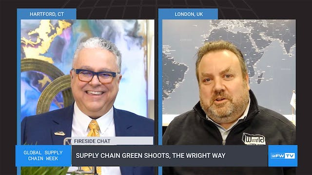 Supply chain green shoots, the Wright...