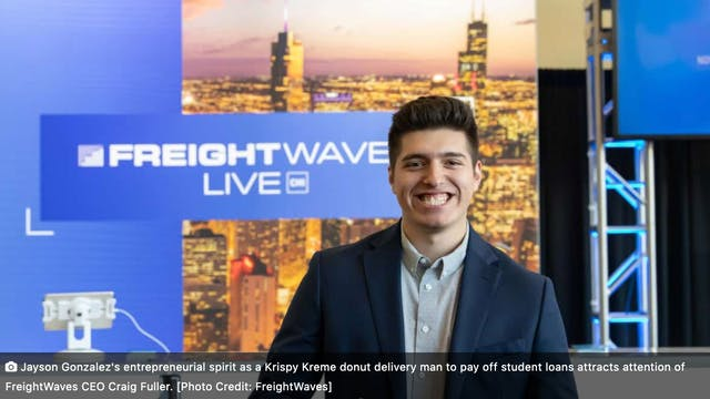 FreightWaves LIVE Chicago: Jayson Gon...