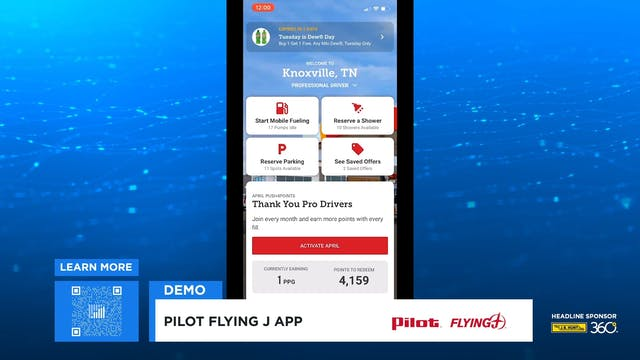Pilot Travel Centers @ HOME Demo