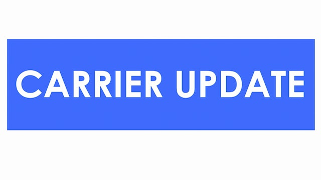 National capacity in a holding pattern - Carrier Update