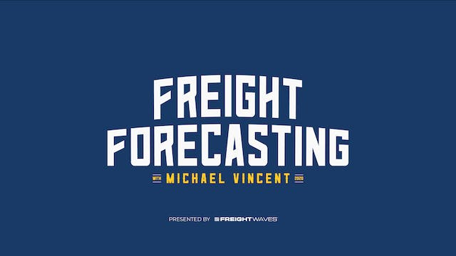 Freight Forecasting - What is a Freig...