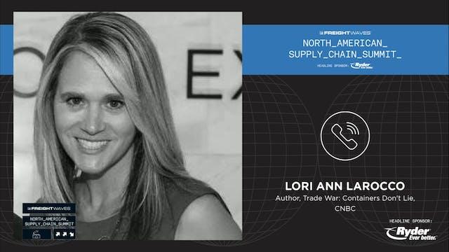 LIVE interview with Lori Ann Larocco ...