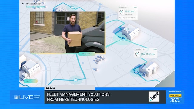 Fleet Management Solutions from HERE Technologies - Demo