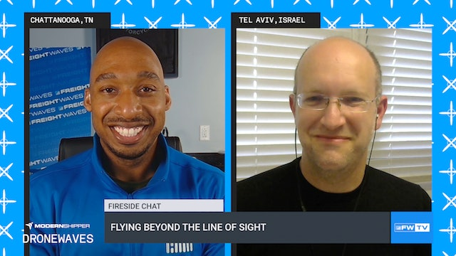 Flying beyond the line of sight