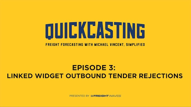 Linked Widget Outbound Tender Rejections - QuickCasting