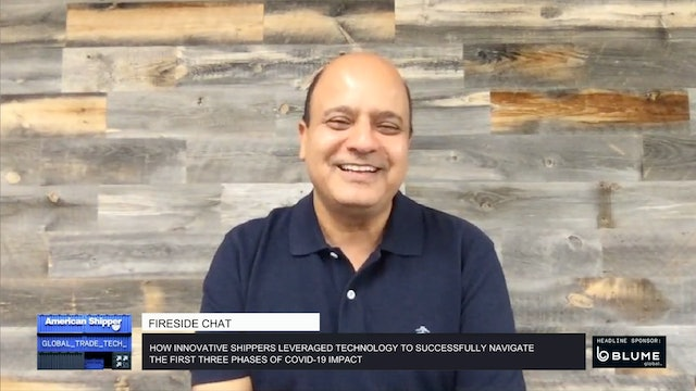 How shippers leveraged technology to navigate COVID-19 impact- GTT Fireside Chat