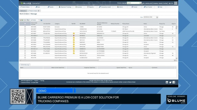 Demo: CarrierGo Premium by Blume Global
