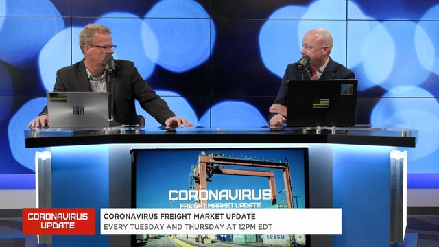 Is demand coming back online? - Coronavirus Freight Market Update