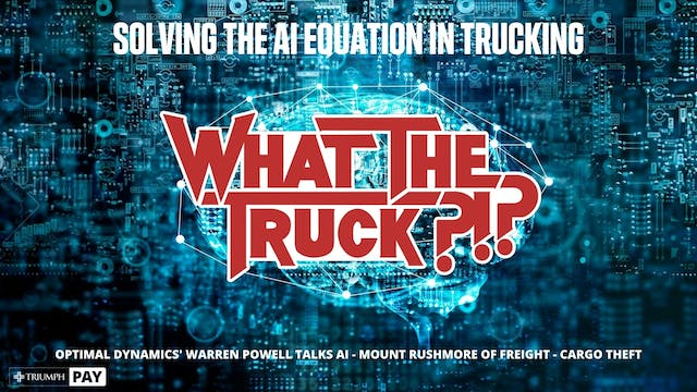 Solving the AI equation in trucking -...