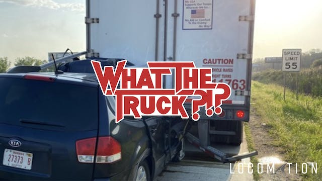 Freight's collision course - WHAT THE...