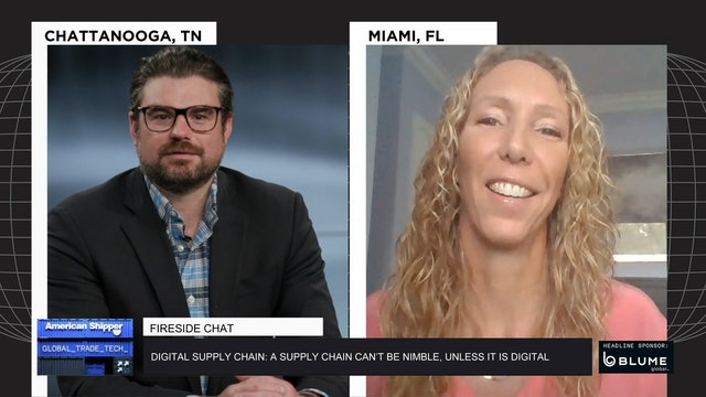 Technology and digitization in the supply chain - GTT Fireside Chat