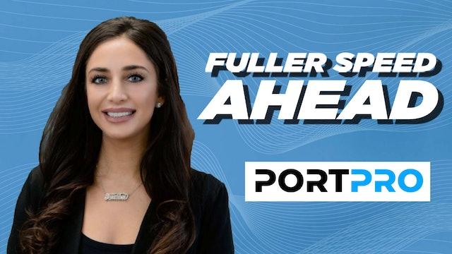 Director of Marketing for PortPro Toni Careccio - Fuller Speed Ahead