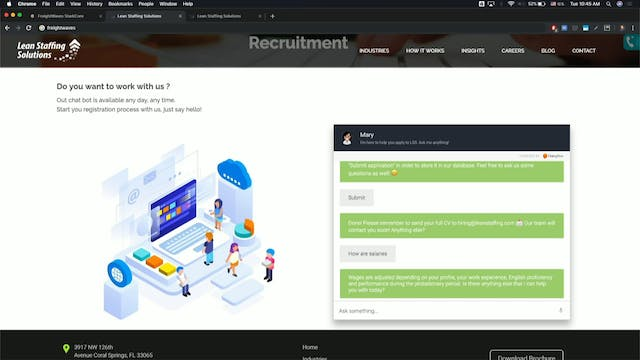 Transparency19 Demo: Lean Staffing So...