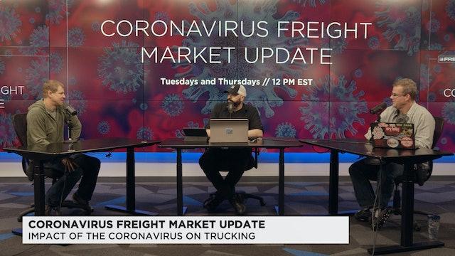 Coronavirus Freight Market Update