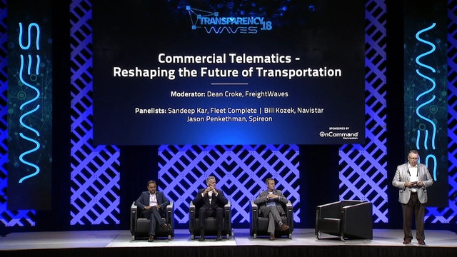 Transparency18 - Commercial Telematics - Reshaping the Future of Transportation