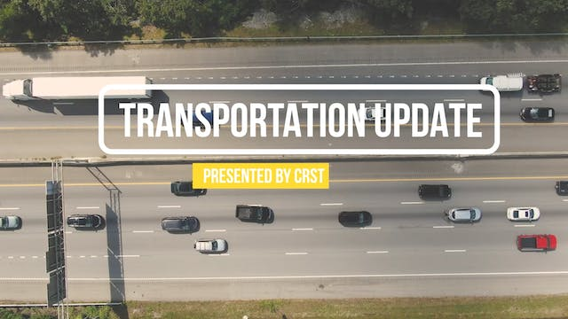 Transportation Update Presented by CR...