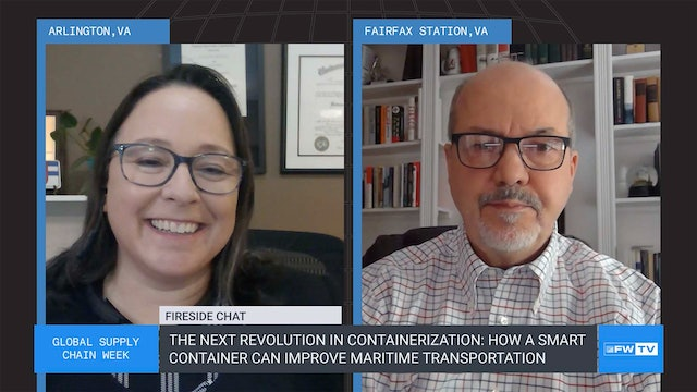 How a smart container can improve maritime transportation