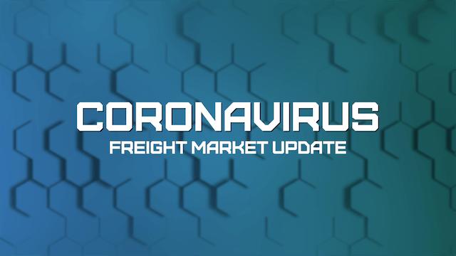 Unemployment, bailouts and headlines - Coronavirus Freight Market Update