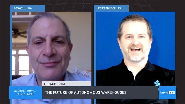 The future of autonomous warehouses