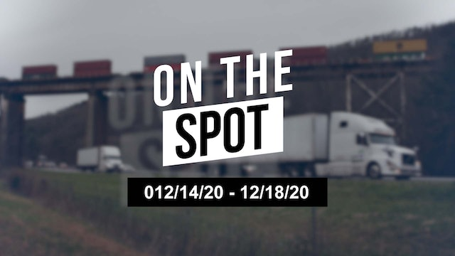 Freight piles up over the holidays - On the Spot 12/18/20