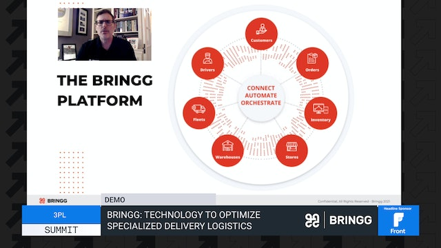 Bringg: Technology to Optimize Specialized Delivery Logistics - Demo