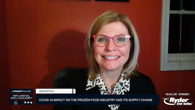 Wavestalk: Impact of COVID-19 on the Frozen Food Industry and Its Supply Chains
