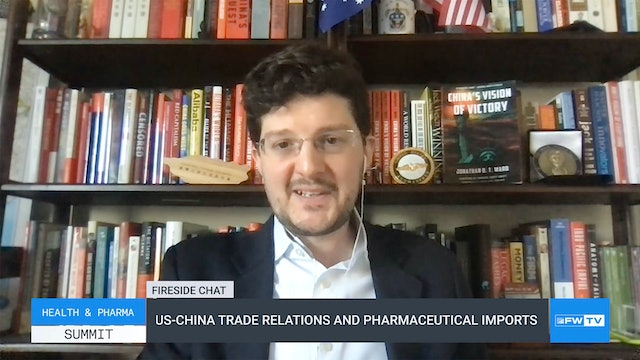 US-China Trade Relations and Pharmaceutical Imports