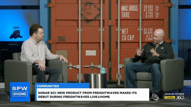 FW @ HOME: FreightWaves launches a ne...