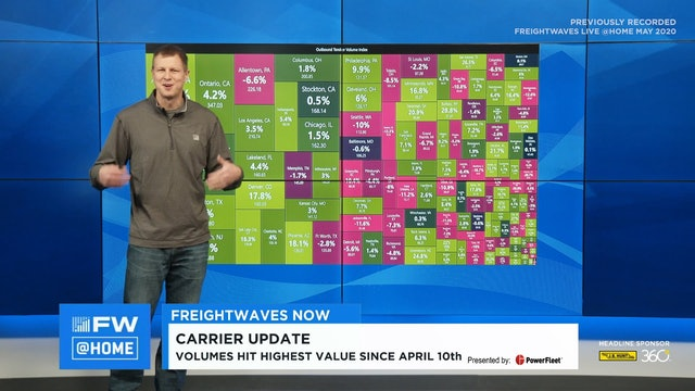 FreightWaves NOW @ Home - May 7