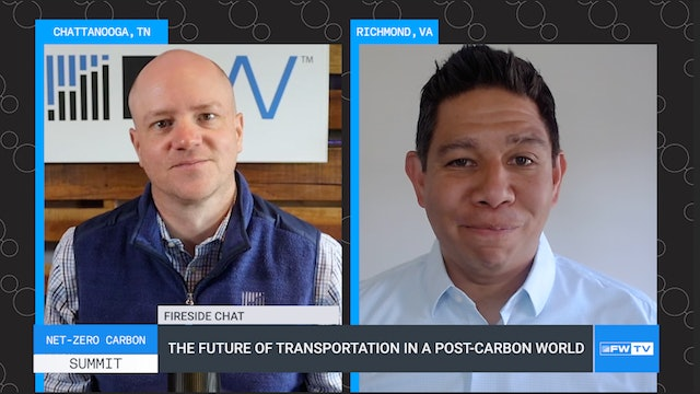 The future of transportation in a post-carbon world