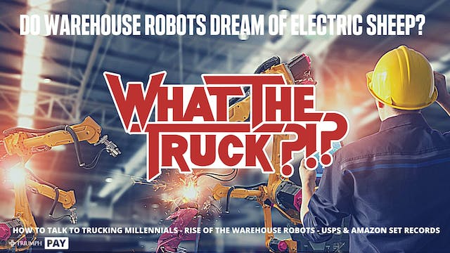 Do warehouse robots dream of electric...