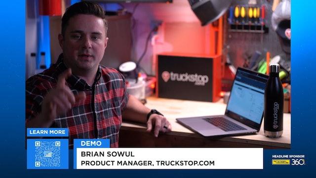 FreightWaves LIVE @ HOME Truckstop.com Demo