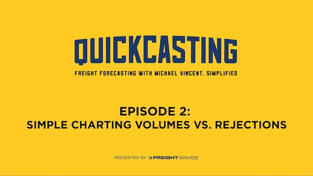 Simple Charting Volumes vs. Rejections - QuickCasting