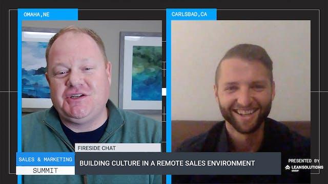 Building Culture in a Remote Sales En...