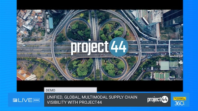Unified, Global, Multimodal Supply Chain Visibility with project44 - Demo