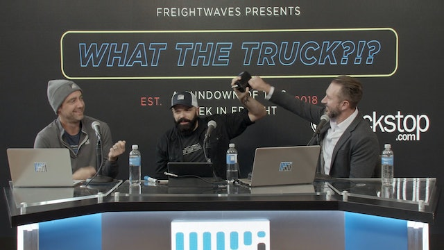 What The Truck?!? Live from day 2 of FreightWaves LIVE