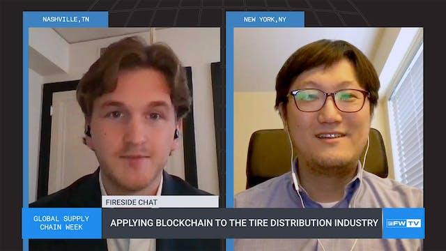 Applying Blockchain to the tire distr...