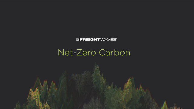 Sustainability in Transportation with Convoy - Net-Zero Carbon