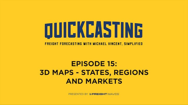3D Maps - States, Regions, and Markets - QuickCasting