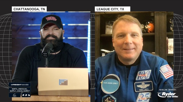 LIVE interview with Astronaut Terry Virts