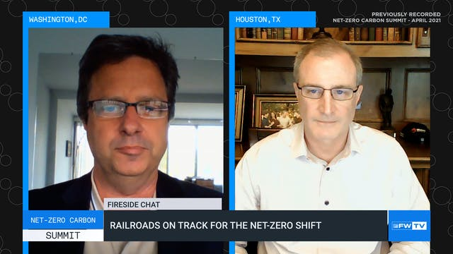 Railroads on track for the net-zero s...