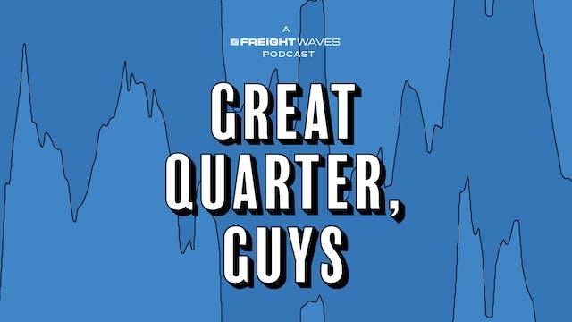 Is 2021 peak earnings for the broker...