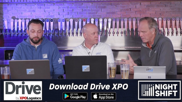 The Night Shift (Presented by Drive by XPO): September 18, 2019