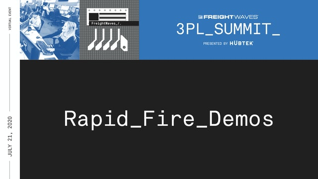 Demos - FreightWaves Live 3PL