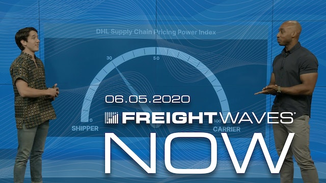 Disconnect between volumes and rejections - FreightWaves NOW