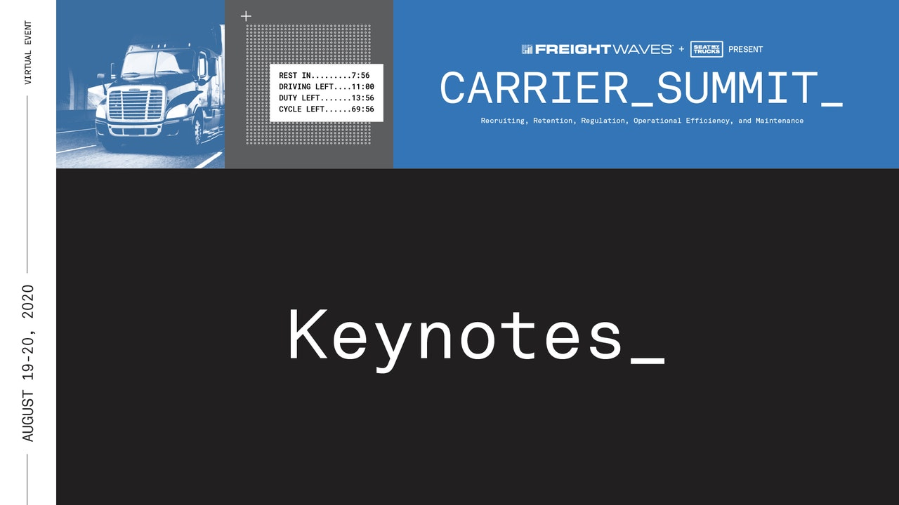 Keynote: Carrier Summit