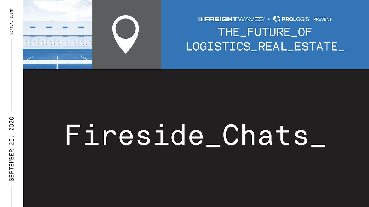 Fireside Chat: Future of Logistics Real Estate Summit